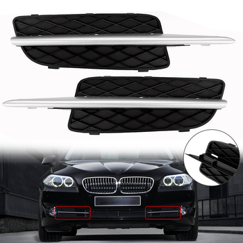 Front Bumper Lower Grille Cover W/Chrome Trim For BMW X5 E70 X6 E71 2007-10 Car Accessories image