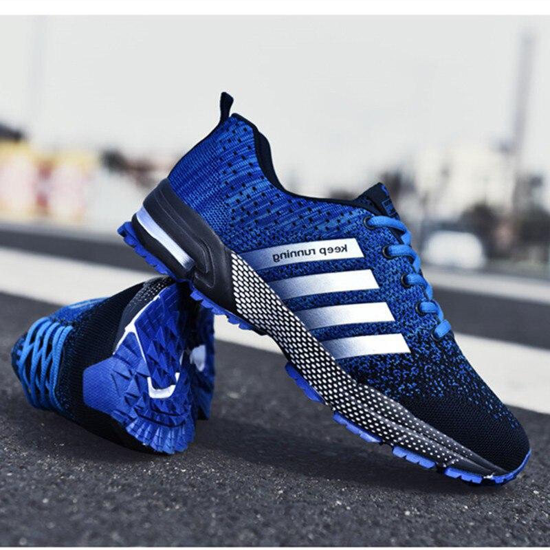 Giày Nam Thời Trang Di Động Thoáng Khí Chạy Bộ 46 Lớn Kích Thước Giày Thoải Mái Đi Chạy Bộ Giày 48