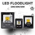 Projecteur de projecteur de LED pour la construction imperméable IP65 extérieur 10W30W50W AC/DC 12V COB jardin de paysage intégré