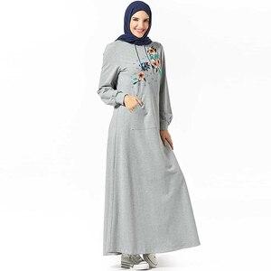 Толстовка абайя Дубайский хиджаб мусульманское платье абайя s мусульманская одежда женские турецкие платья Кафтан Marocain Baju мусульманская ...