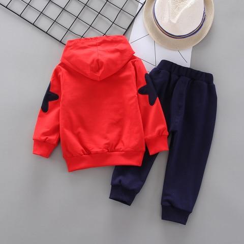primavera outono criancas conjuntos de roupas bebe