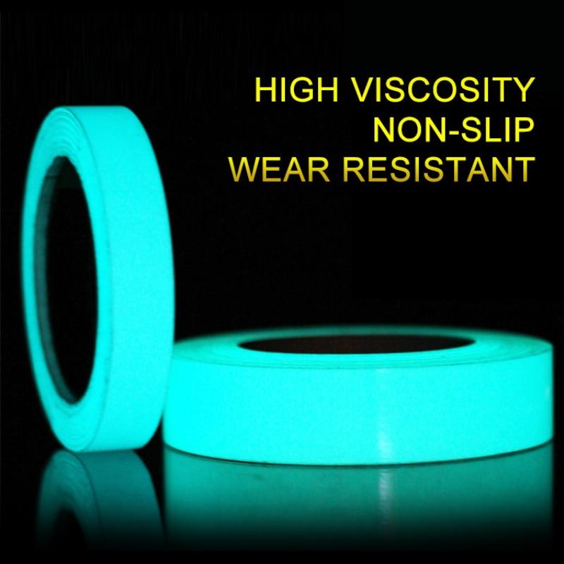 DIY Waterproof PVC Tape Sticker Luminous Tape Safety Strips Glow in The Dark