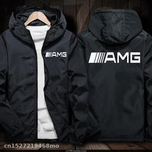 Windproof Jacket for AMG logo in car Jacket Motorcycle Mobik