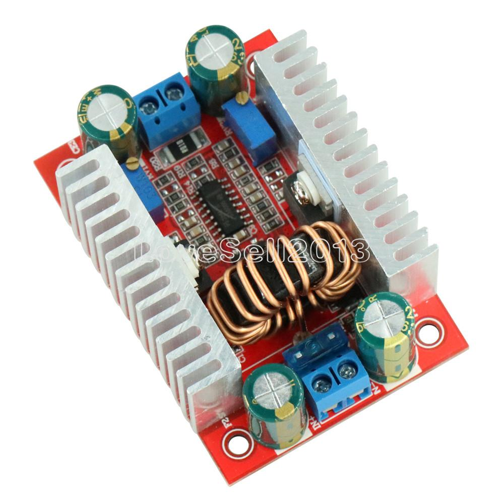 400W 15A DC-DC Power Converter Boost Module Step-up Constant Power Supply Module 8.5V-50V To 10V-60V LED Boost Module