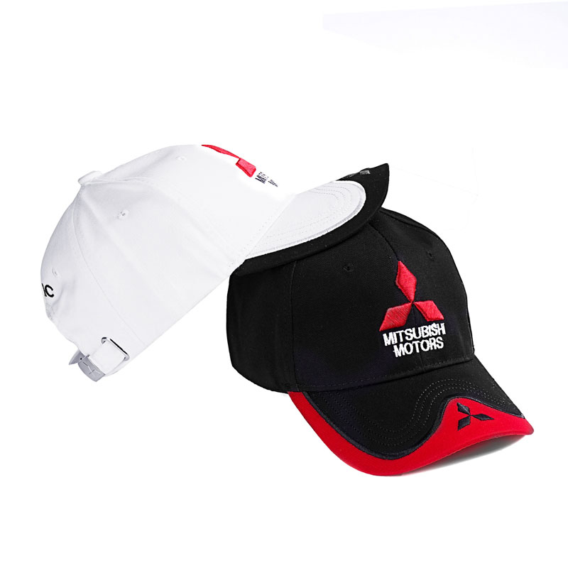 Mitsubishi Motors Baseball Cap Hat Embroidery Adjustable Stylish Sport Cap NEW