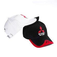 Hat Cap Gorras Baseball-Cap Trucket-Hat MOTO Car-Logo Racing-F1 Mitsubishi Wholesale