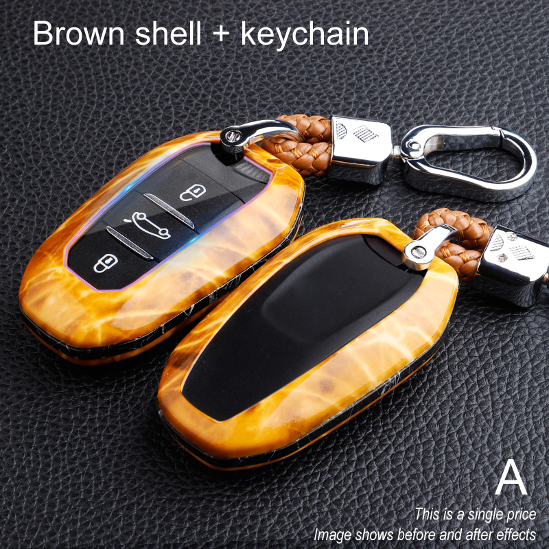 Car <font><b>key</b></font> case for <font><b>peugeot</b></font> 508 407 308 2008 208 <font><b>5008</b></font> 3008 206 301 107 expert 308 <font><b>5008</b></font> accessories 306 <font><b>cover</b></font> holder shell keychain image