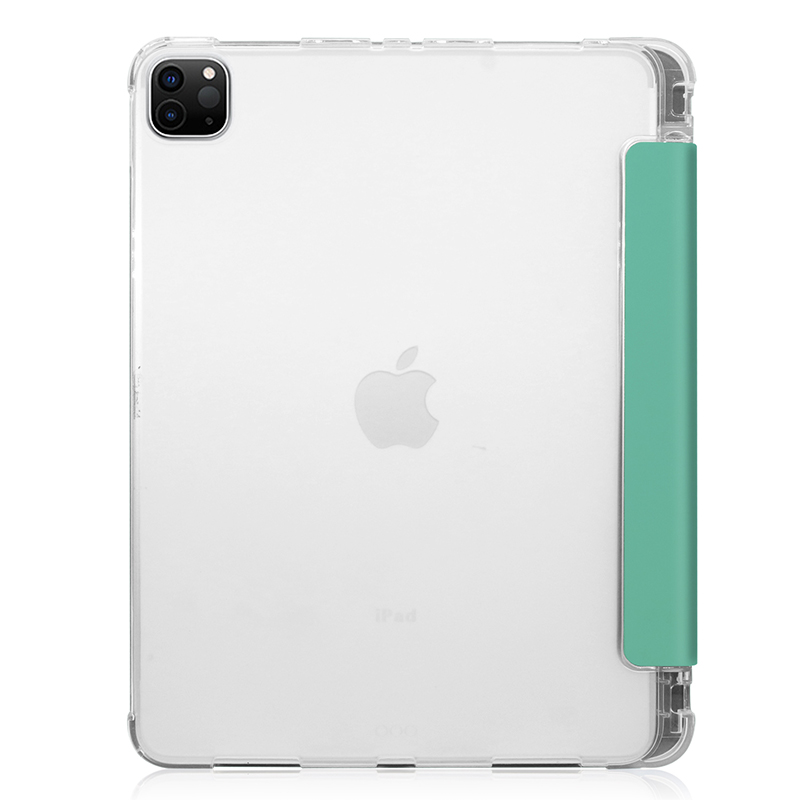 Pencil-Slot PU Case Transparent-Cover A2228/A2068/A2230 for Pen-Holder 11inch iPadpro11 with