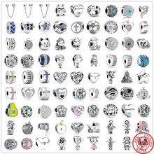 Charm Bead Bracelets-Accessories Jewelry Gift 925 Silver DIY Women Original New Fit