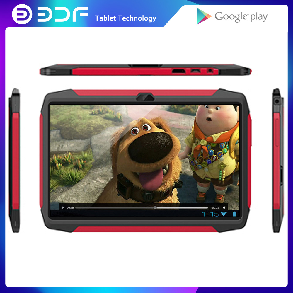 BDF Children's Best Gift 7 Inch Tablet Pc Android 7.0 Tablet Pc 1GB +16GB Tablets PC WiFi Dual Camera Quad Core KIDS Tab