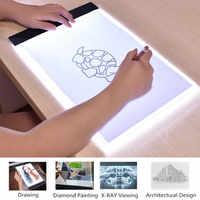 Tableta de dibujo Digital de escritura LED, Tablets gráficos A4/A5, caja de luz LED, almohadilla de dibujo electrónico USB, mesa de pintura de Arte de copia