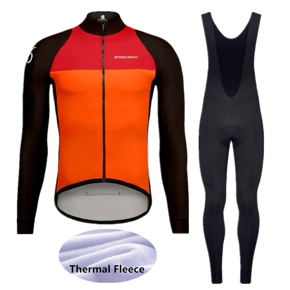 2020 Pro Winter Thermal Fleece Etxeondo Cycling jerseys Sets MTB  Bike Clothes Wear Long Sleeve Bicycle Clothing -65D7