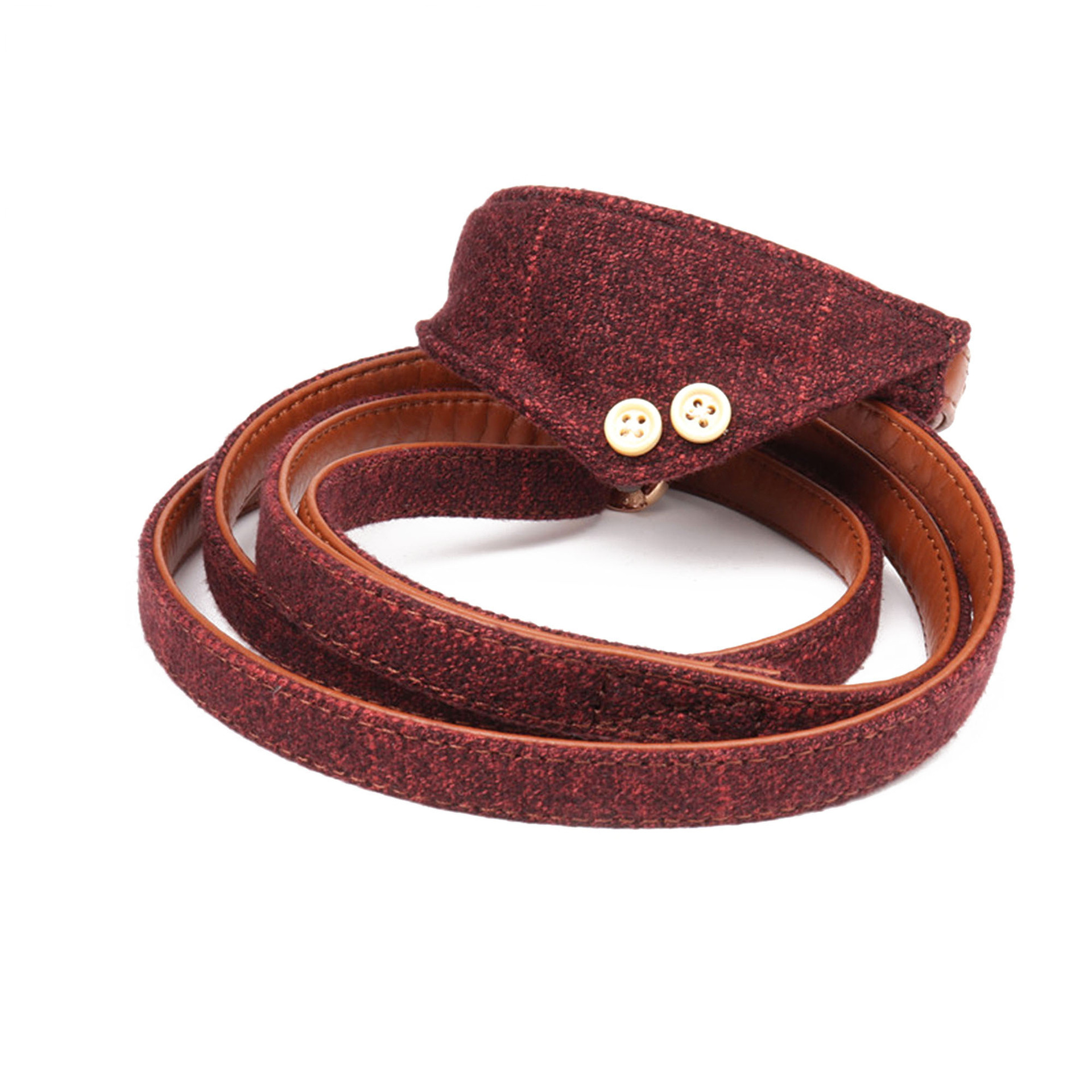 Jin Jie Te Origional Small And Medium-sized Dogs Pu Gou Hand Holding Rope England Pet Triangular Scarf Neck Ring