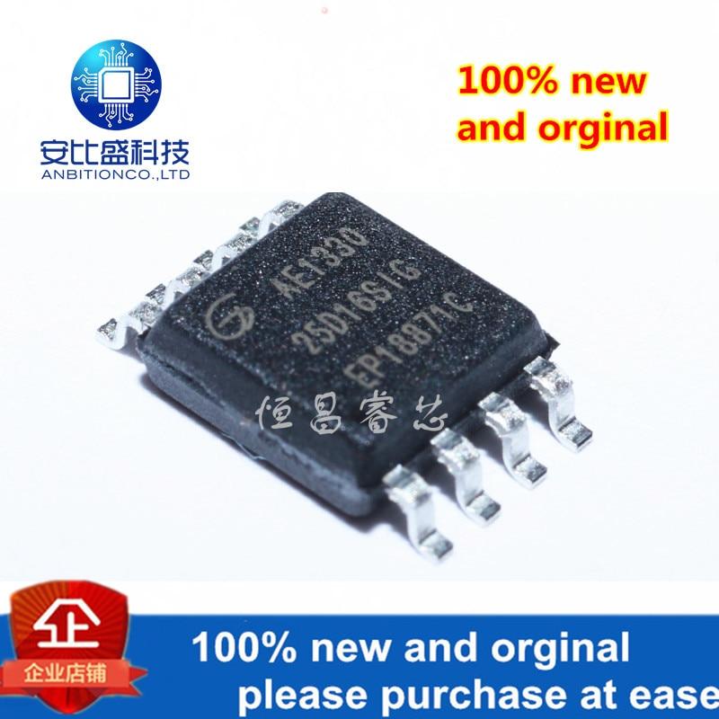 5pcs 100% New And Orginal 2GD25D16SIG Silk-screen 25D16SIG GD25D1616Mbit SOP8 In Stock
