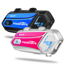 Fodsports Музыка Обмен m1 s плюс мотоциклетный шлем Интерком