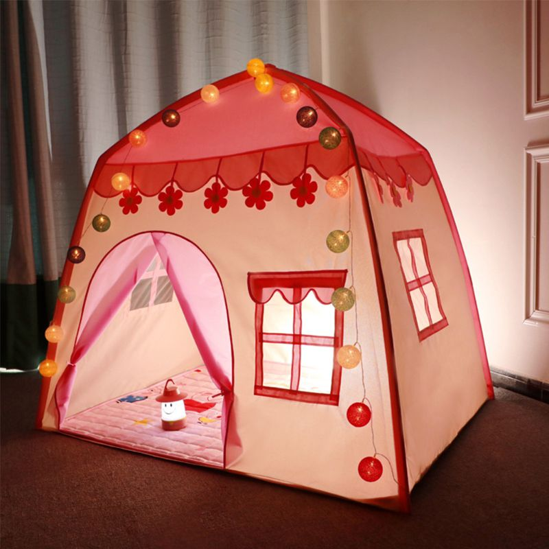 Tent for Kids Play Tent for Indoor Outdoor Oxford Cloth Playhouse with Carry Bag image