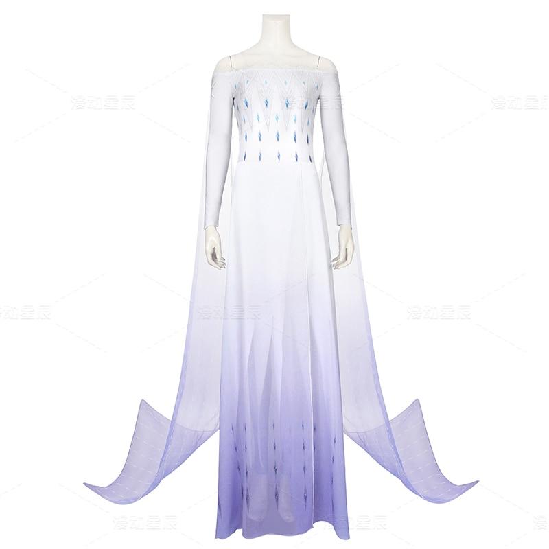 Frozen Cosplay Queen Elsa Cosplay Costume Halloween Costumes For Women Anysize Custom Made Freeship New