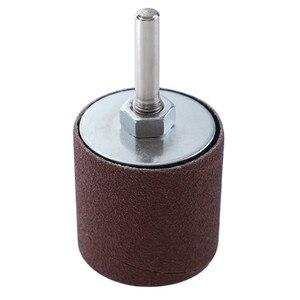Image 2 - Drum Sander Dremel Kit Sanding Belt Grit 80 120 Sandpaper Long Short with Spindle Case for Drill Press Rotary Tools
