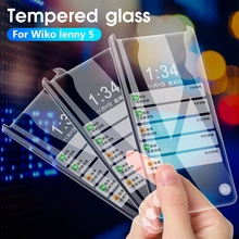 2PCS Tempered Glass For Wiko Lenny 5 4 Plus View 3 Lite Pro Y80 Y60 Robby 2 Y50 Cover Case Screen Protector For Wiko Y80 Y60 Y70