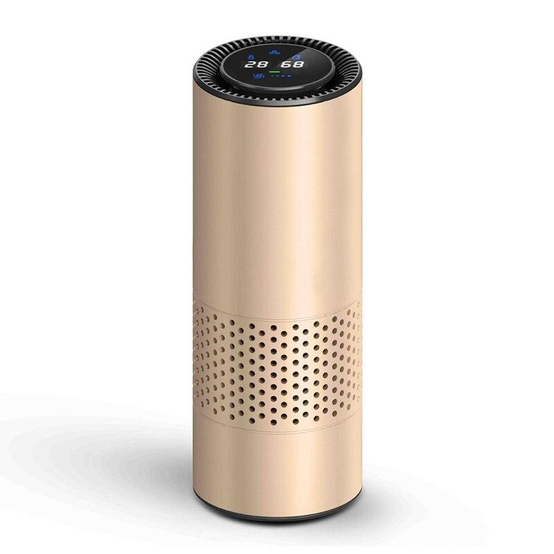 Ev Aletleri'ten Hava Temizleyicileri'de Hepa filtresi ile hava temizleyici taze hava anyon araba hava temizleyici kızılötesi sensör hava temizleyici en iyi araba ev ofis için title=