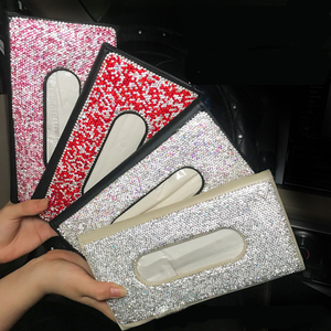 Bling Bling Diamond Car Tissue