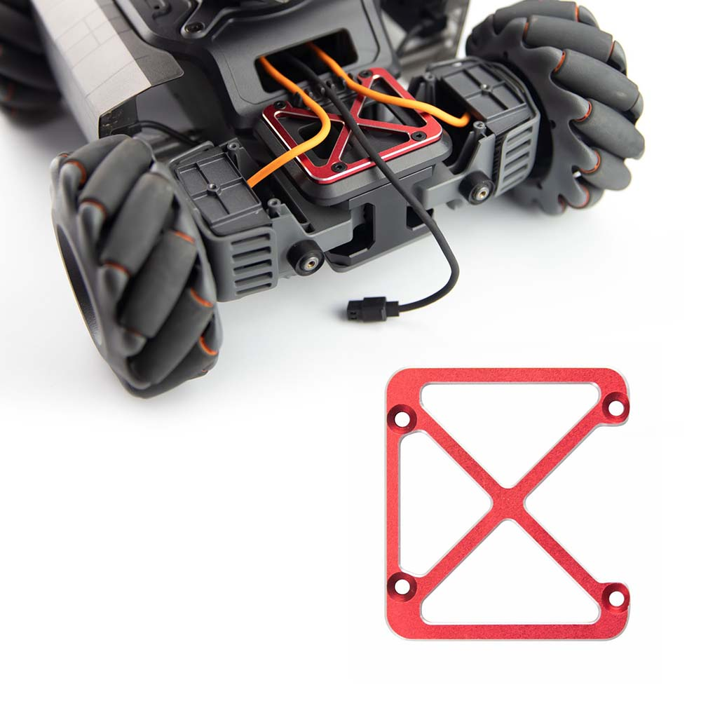 Front Axle Upper Cover Reinforcement Aluminium Alloy For DJI RoboMaster S1 Educational Robot Electronics Accessories