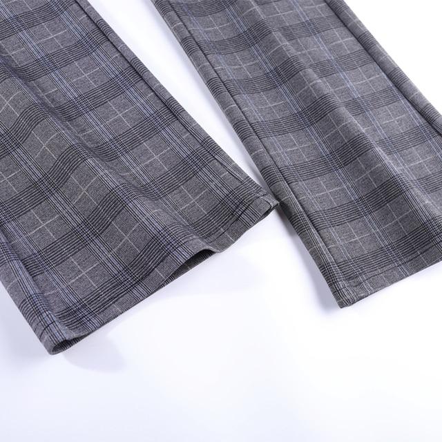 Elasticity Bell Bottom Pants  6