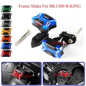 For Suzuki BK1300 B-KING Motorcycle Falling Protection Frame Sliders Guard CNC Aluminum Anti Crash Pad Protector Modified Bumper