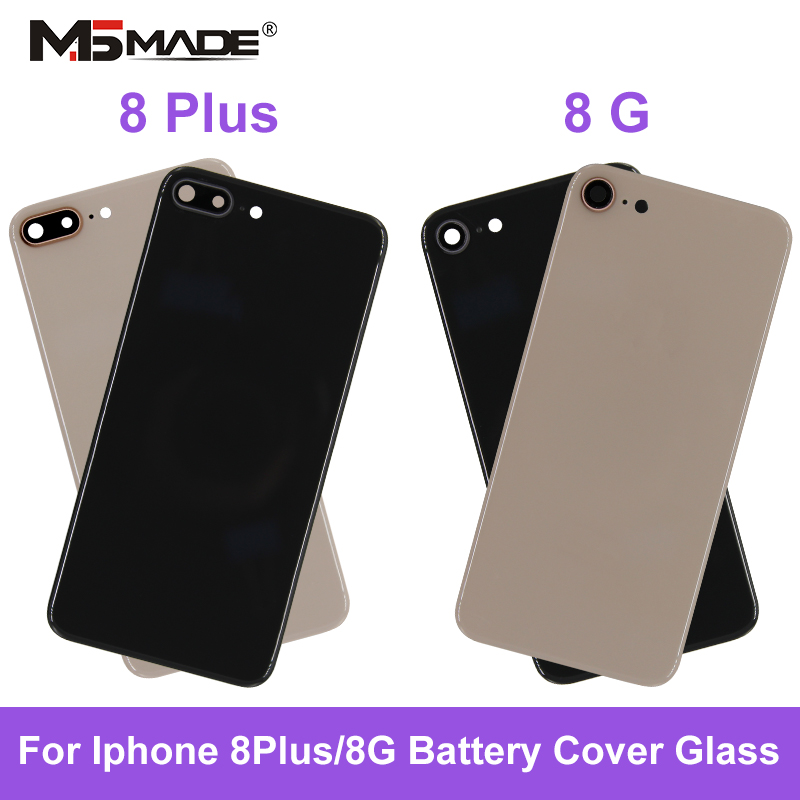 For IPhone 8 IPhone 8 Plus Back Battery Cover Rear Glass Housing Case Repair Replacement Part For IPhone 8 Plus Case