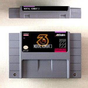 Image 3 - Mortal Kombat or Mortal Kombat II or Ultimate Mortal Kombat 3   Action Game Card US Version English Language