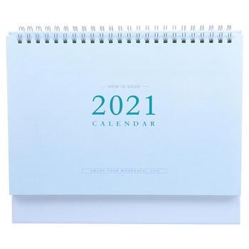 Home Calendar 2021 Calendar Tabletop Calendar Creative Coil Calendar 1