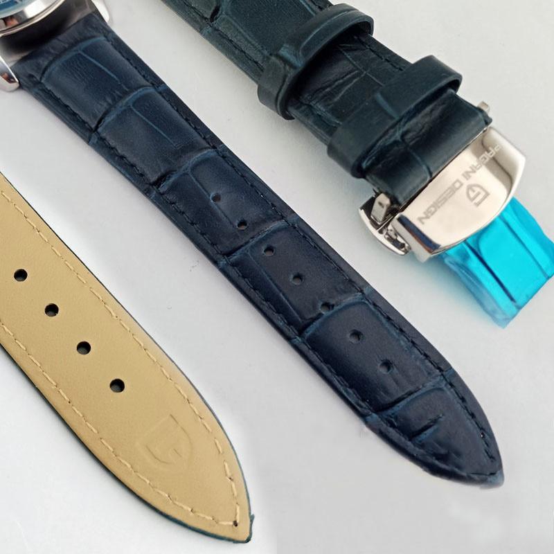 Image 5 - PAGANI Mens Mechanical Watches 2020 Top Brand Luxury Watch Men  Automatic Leather Watch Men Waterproof Clock Relogio  MasculinoMechanical Watches
