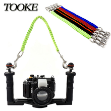 Diving Camera Tray Handle Rope Lanyard Strap carrier for Gopro Sony Canon Nikon Housing Case Light Holder Underwater Photography