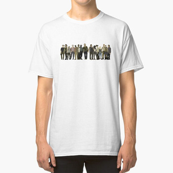 The Walking Dead Cast T - Shirt The Walking Dead Walkers Rick Michonne Carl Carol Daryl Sasha Beth Tyrese image