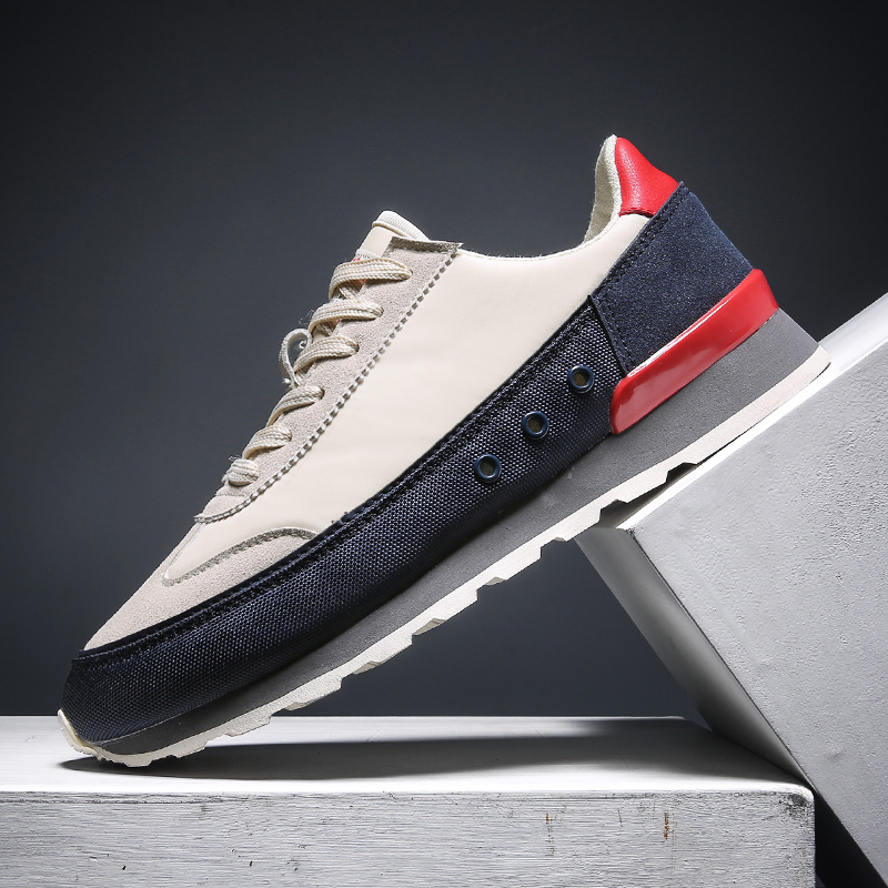 Men's Shoes, Fashion Canvas, Men's Casual Shoes, Summer Lightweight And Breathable Walking Shoes, Flat Tennis Sneakers