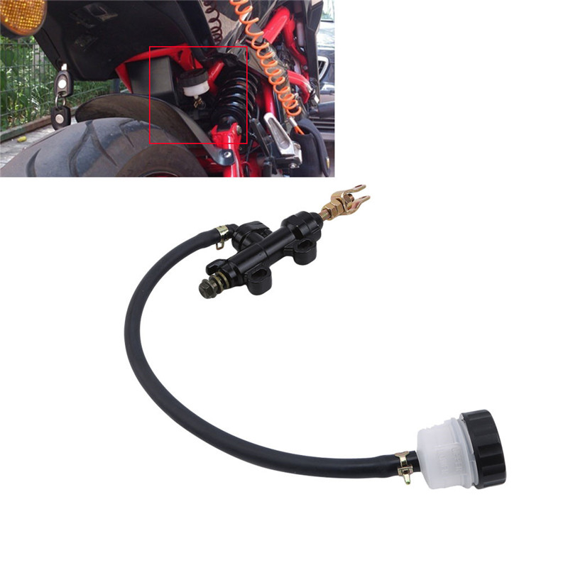Motorcycle Rear Foot Hydraulic Brake Pump Refit Rear Brake Master Cylinder Pump For Motorcycle|Brake Disks| |  - title=