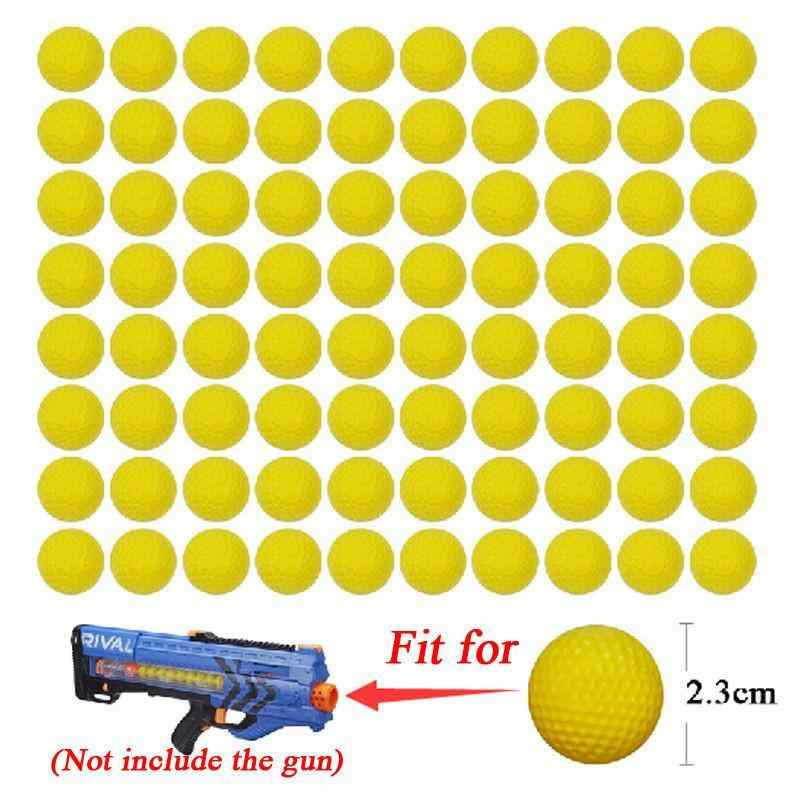 2 pcs Ferramenta Acessórios Bola Bala Brinquedo Macio bala Moda Esponja Balas de Segurança