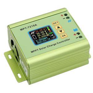 Digital MPPT Solar Charge Controller for Lithium Battery 24V / 36V / 48V / 60V / 72V Battery Pack Output 0-10A MPT-7210A(China)