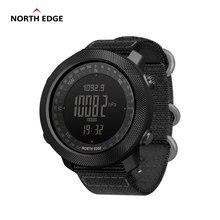 نورث ايدج أباتشي الرجال الرياضة ساعة رقمية ساعة الجري السباحة العسكرية الجيش ساعات مقياس الارتفاع مقياس الارتفاع البوصلة مقاوم للماء