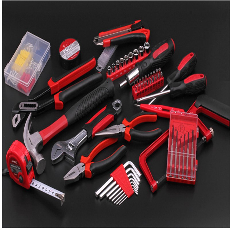 Купить с кэшбэком Household Tools Set Multi-functional Hardware Toolbox Pliers Wrench Screwdriver Comprehensive Maintenance Tools