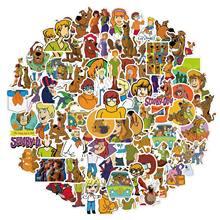 10/100 Pçs/set Scooby-Doo Dos Desenhos Animados Anime Adesivos À Prova D' Água Skate Motocicleta Bagagem Guitarra Laptop Adesivo Bicicleta Crianças Brinquedos
