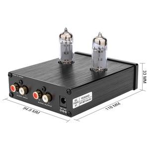 Image 2 - FX Audio TUBE 03 MINI Bile Preamp Tube Amplifier Buffer HIFI Audio Preamplifier With Treble Bass Adjustment Pre amps