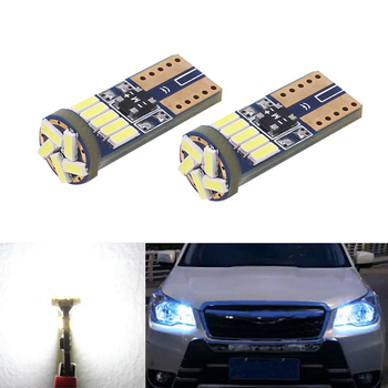 2x led W5W T10 4014MD 15LED canbus Car Light with Projector Lens For Subaru impreza legacy xv forester Outback Tribeca Fiat image