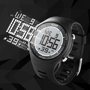 Image 4 - Цифровые спортивные мужские часы для бега на открытом воздухе Водонепроницаемые многофункциональные часы Будильник Секундомер для женщин и мужчин EZON L008