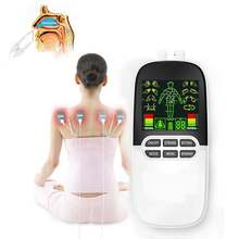 Decine EMS Boby Massaggiatore Rinite Allergia Mitigatore di Stimolazione Elettro Stimolatore Muscolare Electrostimulator Meridiano Fisioterapia