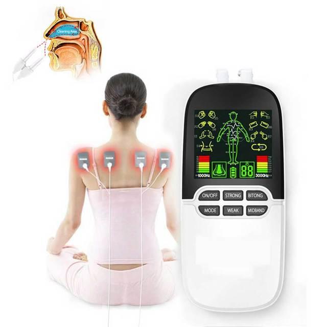十 ems boby マッサージ鼻炎アレルギーリリーフ投手電気刺激筋肉刺激 electrostimulator 子午線理学療法