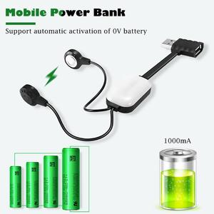 Hot Sale Charger Wear-resistant Delicate Texture A10 Magnetic USB Mini Charging Power Bank Universal Battery Charging Charger