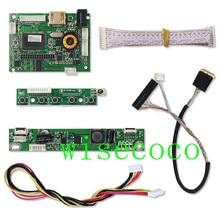 """LCD LVDS hoparlör kontrol kartı 2AV 30PIN için LP097X02 SLQ1 SLQE SLN1 LCD panel desteği 1024X768 9.7 """"sürücü panosu"""