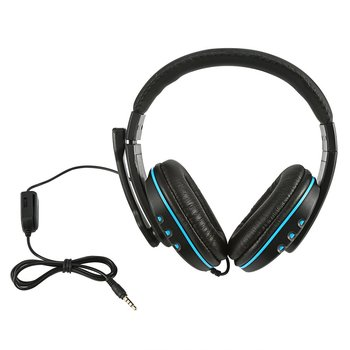 Creative Fashion Gaming Headset Stereo Surround Headphone 3.5Mm Wired Mic For Ps4 Laptop Xbox One Headphone 3 5mm wired gaming headset pc bass stereo surround headphone wired computer gamer earphone with mic for ps4 laptop for xbo​x