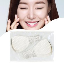 40Pcs Set Invisible Thin Face Facial Stickers Facial Line Wrinkle Flabby Skin V-Shape Face Lift Tape Scotch For Face